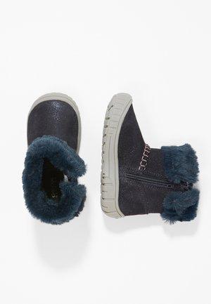 OMAR GIRL - Dětské boty - dark navy