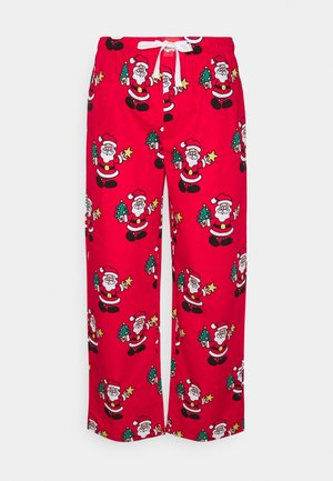 PYJAMA PANT SANTA - Pyjama bottoms - red