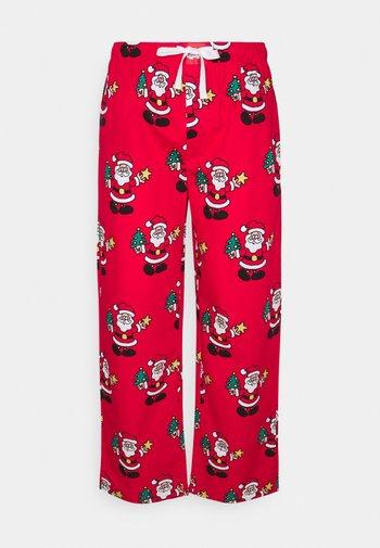 PYJAMA PANT SANTA - Pyžamový spodní díl - red