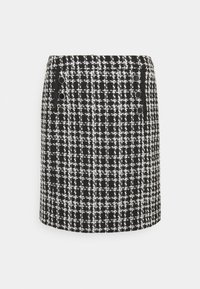 Wallis - MONO CHECK SKIRT - Mini skirt - mono - 0