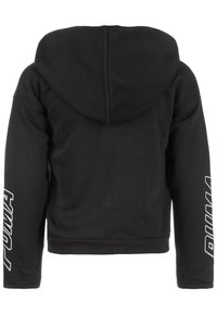 Puma - ALPHA - Zip-up hoodie - cotton black - 1