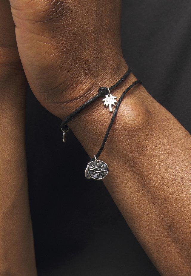 CHARM BRACELETS 2 PACK - Bracelet - black
