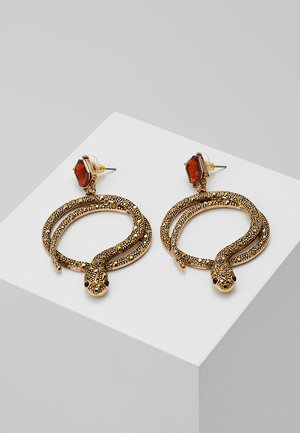 CRAREVEN - Boucles d'oreilles - orange
