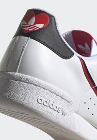 adidas Originals - CONTINENTAL 80 - Trainers - footwear white/core black/scarlet - 9