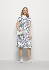 Polo Ralph Lauren - Shirt dress - white/dark blue - 1