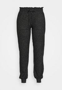 Marks & Spencer London - COSY CUFF PANT - Pyjama bottoms - black - 4