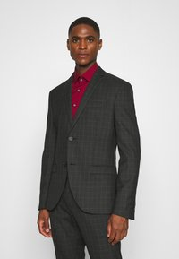 Isaac Dewhirst - CHECK SUIT SET - Garnitur - grey - 2
