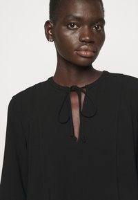 Theory - FLUID BLOUSE ADMIRAL - Blouse - black - 4