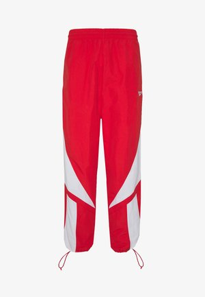 2020-04-01 CLASSICS TWIN VECTOR TRACK PANTS - Pantalon de survêtement - radiant red