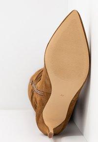 KIOMI - High Heel Stiefel - cognac - 6