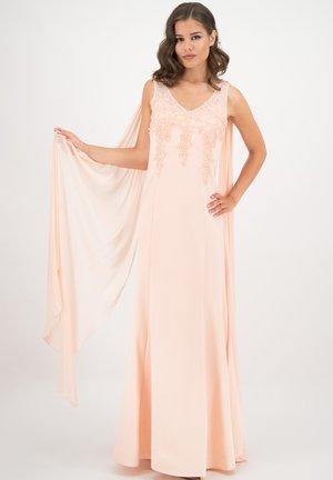 MIT CHIFFON  - Maxi dress - lachs