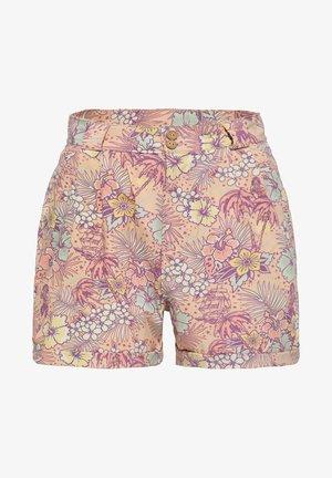 MIT HAWAIIANISCHEM  - Shorts - coral