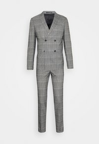 Lindbergh - DOUBLE BREASTED CHECK SUIT - Suit - brown - 7