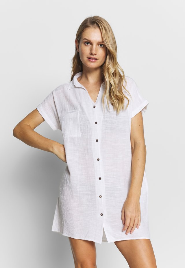 THE ADRIFT DRESS - Strandaccessoire - white
