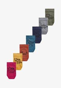 Next - 7 PACK RICH TRAINER - Socks - multi-coloured - 0