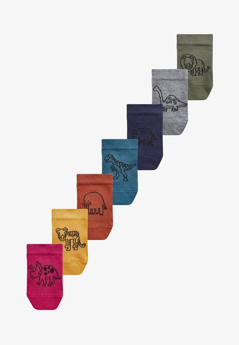 Next - 7 PACK RICH TRAINER - Socks - multi-coloured