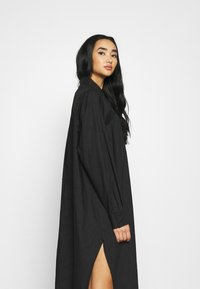 Monki - CAROL DRESS - Shirt dress - black dark - 3