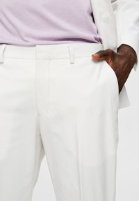 Selected Homme - Trousers - egret - 3
