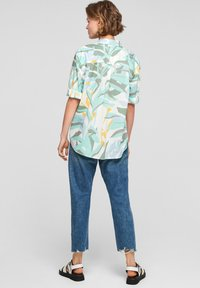 s.Oliver - Overhemdblouse - turquoise aop - 2