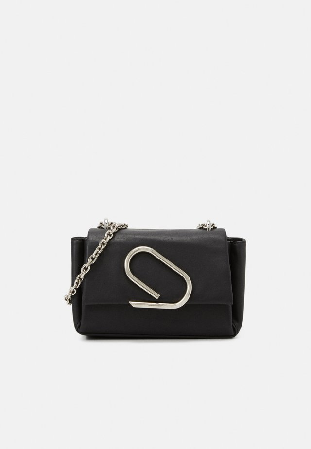 ALIX NANO SOFT CHAIN - Schoudertas - black