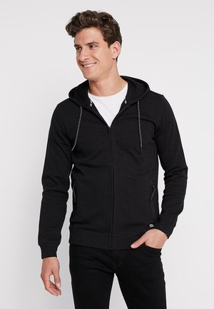 ISCAR - veste en sweat zippée - black