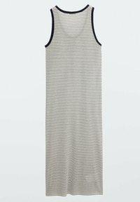 Massimo Dutti - Jersey dress - white - 1