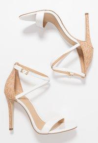 MICHAEL Michael Kors - ANTONIA - High heeled sandals - optic white/multicolor - 3