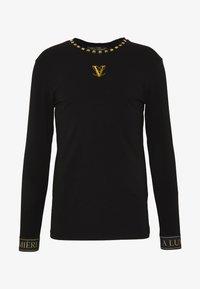 Volé la lumière - GOLD PYRAMID STUD LONG SLEEVE TSHIRT  - T-shirt print - white - 4
