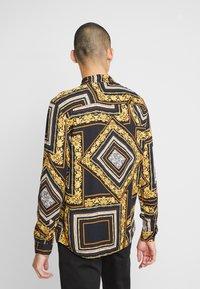 Zign - Košile - black/yellow - 2