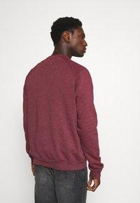 Pier One - Sweatshirt - bordeaux - 2