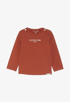 HESTER TEXT - Long sleeved top - spicy ginger