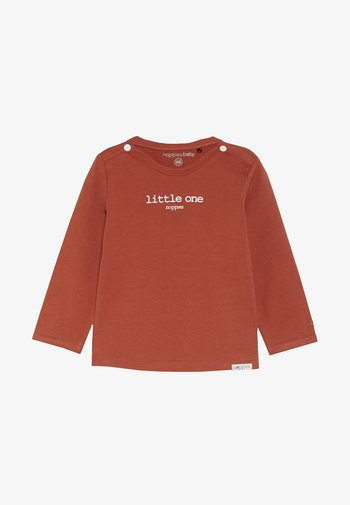 HESTER TEXT - Longsleeve - spicy ginger