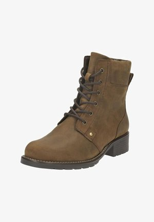 ORINOCO SPICE - Lace-up ankle boots - camel