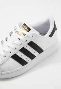 adidas Originals - SUPERSTAR - Trainers - footwear white/core black - 2