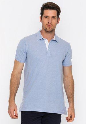 Polo shirt - l.blue