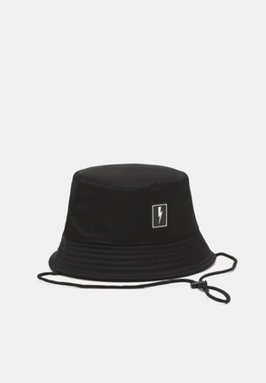 BOLT BADGE BUCKET HAT - Hatt - black