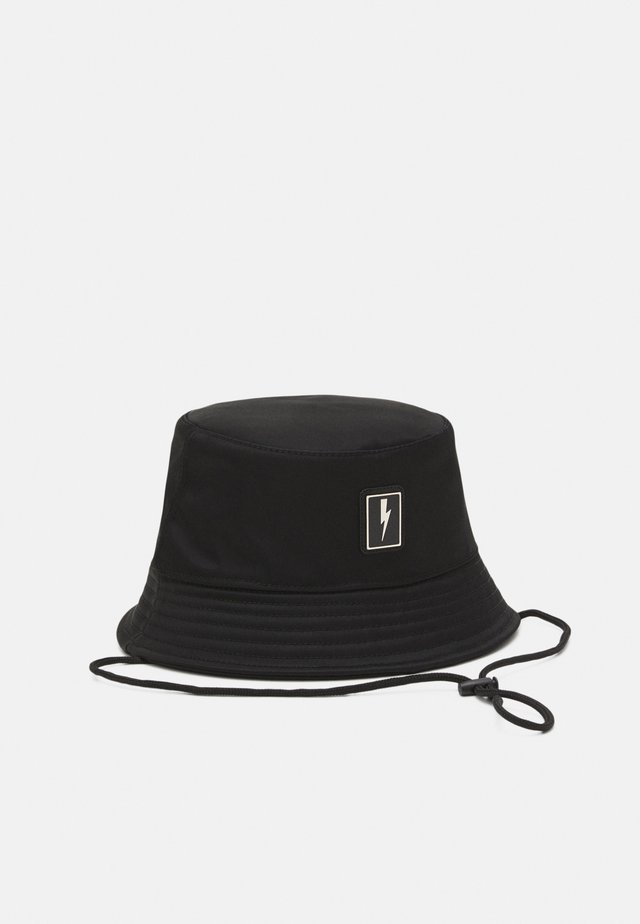 BOLT BADGE BUCKET HAT - Cappello - black
