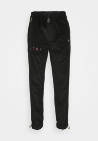 Grimey - NITE MARAUDER TRACK PANTS UNISEX - Tracksuit bottoms - black - 0