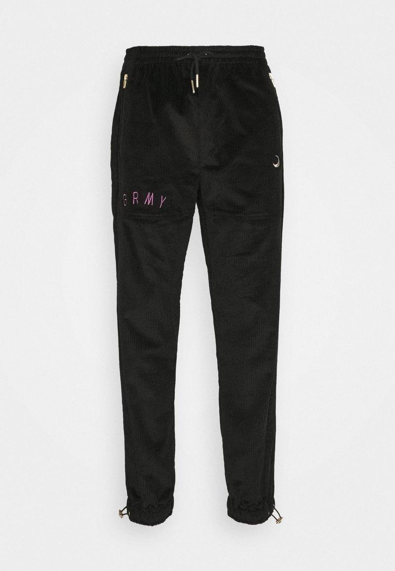 Grimey - NITE MARAUDER TRACK PANTS UNISEX - Tracksuit bottoms - black