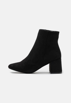 BYRON ROUND TOE MID BLOCK - Ankle boots - black