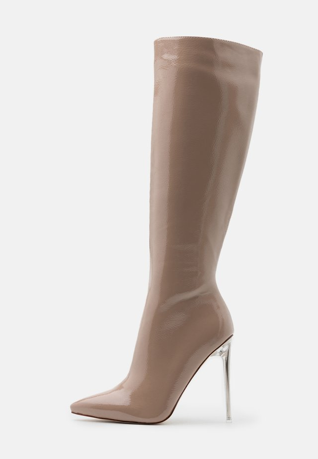 FABLE - High heeled boots - taupe