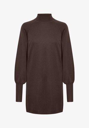 SANJA  - Jumper dress - coffee brown