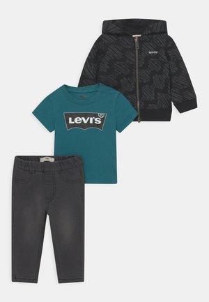 HOODIETEESET - Zip-up sweatshirt - black