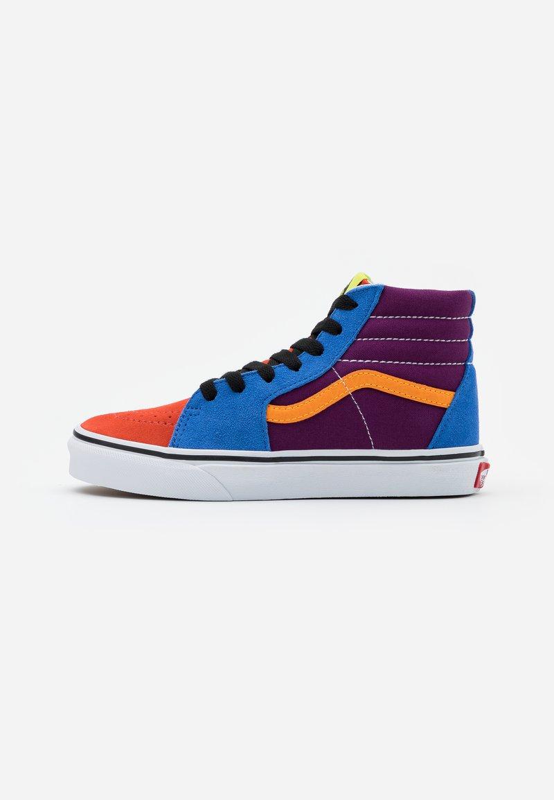 Vans - SK8 - High-top trainers - grape juice/bright marigold
