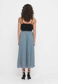 ONLY - Pleated skirt - Faded Denim - 2