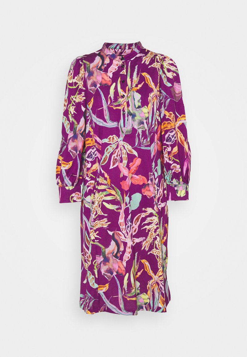 Marc Cain - Jersey dress - purple