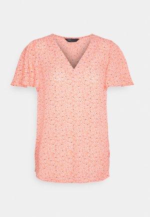 DITSY TEE - T-shirts print - coral