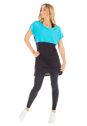 MCK001 ULTRA LIGHT - Sports dress - sky blue/schwarz