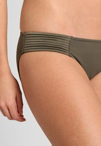 Seafolly - QUILTED HIPSTER - Bikini bottoms - dark olive - 3