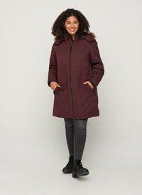 Zizzi - Down coat - dark bordeaux - 1